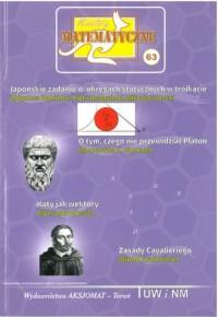 Miniatury matematyczne 63 - okładka książki