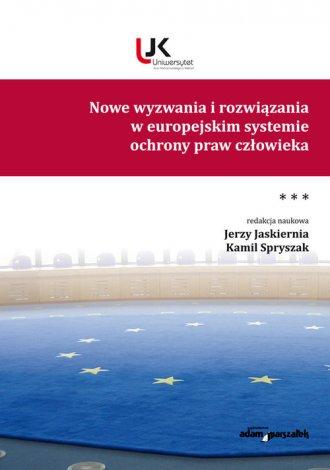 Nowe wyzwania i rozwiązania w europejskim - okładka książki