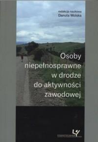 Osoby niepełnosprawne w drodze - okładka książki