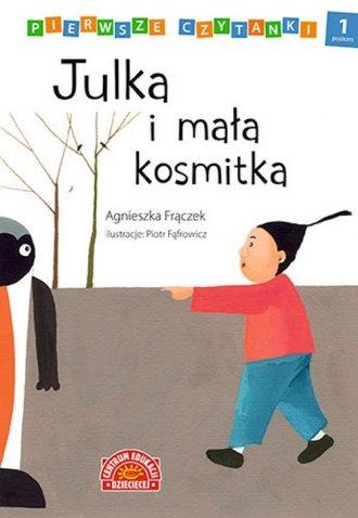 Pierwsze czytanki Julka i mała - okładka książki