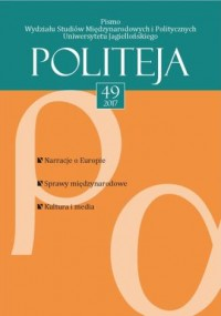 Politeja nr 49/2017 - okładka książki
