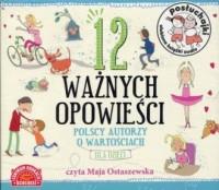 Posłuchajki 12 ważnych opowieści. Polscy autorzy o wartościach dla dzieci - pudełko audiobooku