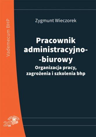 Pracownik administracyjno-biurowy. - okładka książki