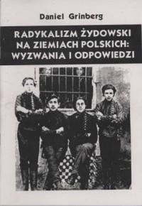 Radykalizm żydowski - Daniel Grinberg - okładka książki