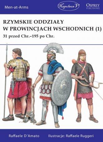 Rzymskie oddziały w prowincjach - okładka książki