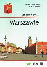 Spacerem po Warszawie - okładka książki