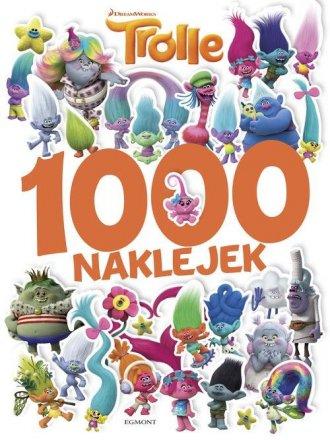 Trolle. 1000 naklejek - okładka książki