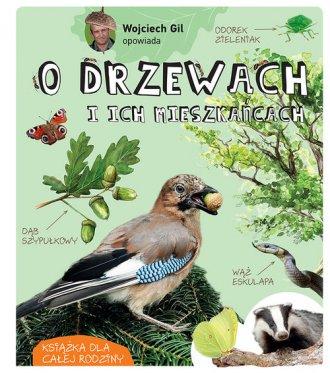 Wojciech Gil opowiada o drzewach - okładka książki