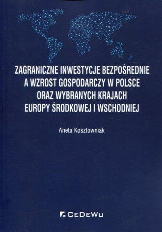 Zagraniczne inwestycje bezpośrednie - okładka książki