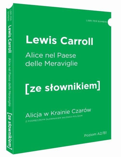 Alicja w Krainie Czarów wersja - okładka podręcznika