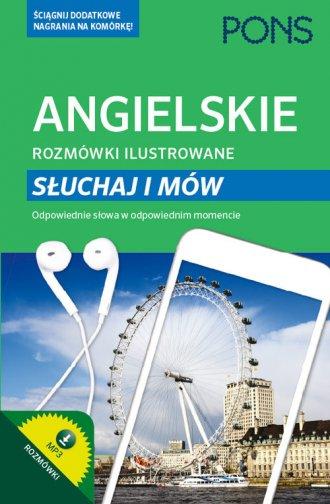 Angielskie rozmówki ilustrowane - okładka podręcznika