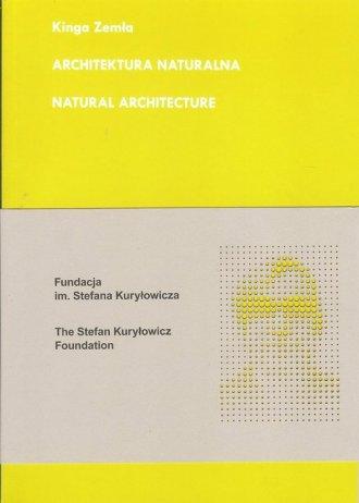 Architektura naturalna - okładka książki