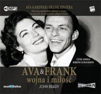 Ava i Frank: wojna i miłość - pudełko audiobooku