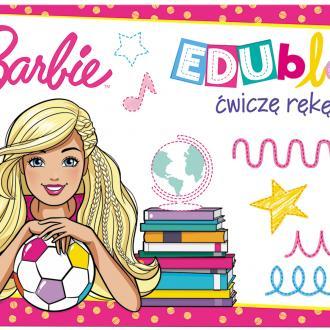 Barbie EDUblok. Ćwiczę rękę - okładka podręcznika