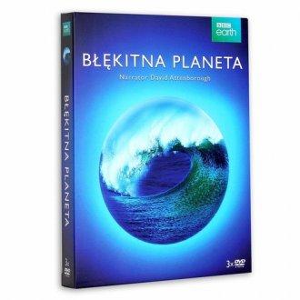 Błękitna Planeta Seria 1 3DVD - okładka filmu