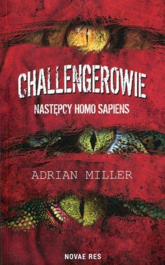 Challengerowie Następcy homo sapiens - okładka książki