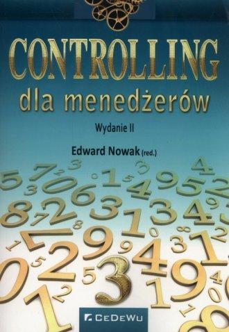 Controling dla menadżerów - okładka książki