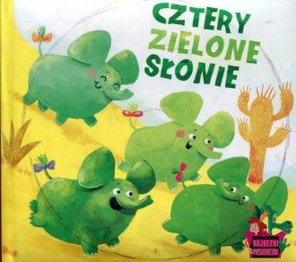 Cztery zielone słonie - okładka płyty