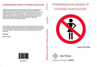 Dyskryminacja kobiet w polskiej - okładka książki