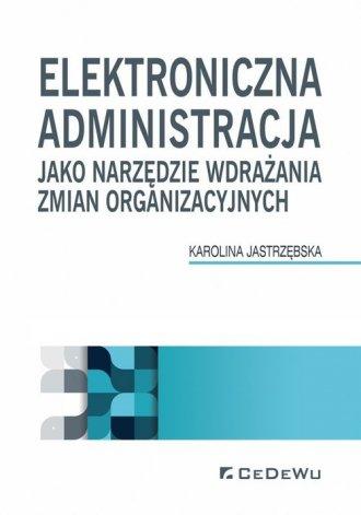 Elektroniczna administracja jako - okładka książki