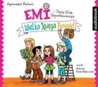 Emi i Tajny Klub Superdziewczyn. Wielka Księga Przygód - pudełko audiobooku