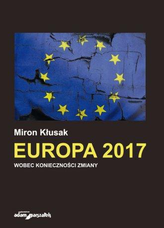 Europa 2017 wobec konieczności - okładka książki