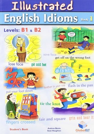 Illustrated English Idioms Book - okładka podręcznika