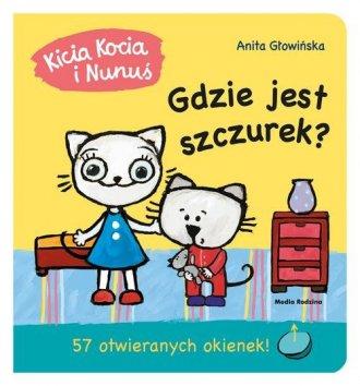 Kicia Kocia i Nunuś. Gdzie jest - okładka książki