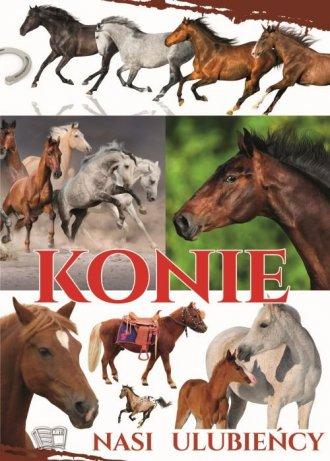 Konie - nasi ulubieńcy - okładka książki