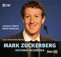Mark Zuckerberg. Historia Facebooka - pudełko audiobooku