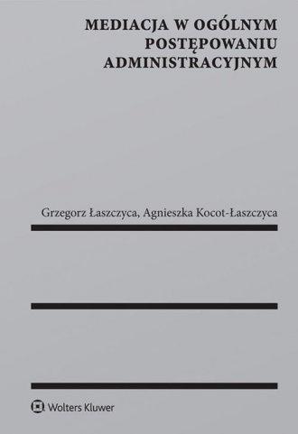 Mediacja w ogólnym postępowaniu - okładka książki