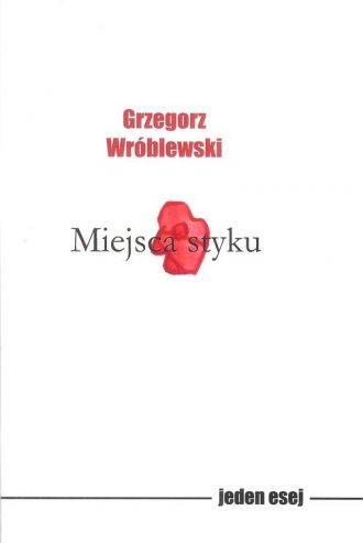 Miejsca styku - okładka książki