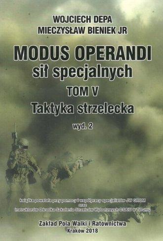 Modus Operanti sił specjalnych - okładka książki