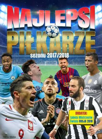 Najlepsi piłkarze sezonu 2017/2018 - okładka książki
