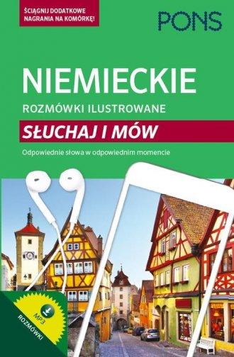 Niemieckie rozmówki ilustrowane - okładka podręcznika