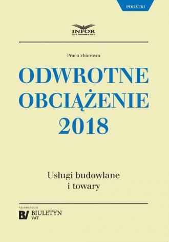 Odwrotne obciążenie 2018. Usługi - okładka książki