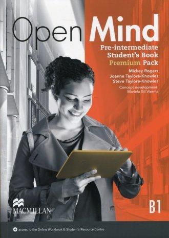 Open Mind B1 Pre-Intermediate Students - okładka podręcznika