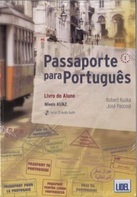 Passaporte para Portugues 1. Podręcznik z ćwiczeniami (+ CD) - okładka podręcznika