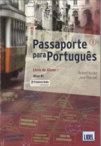Passaporte para Portugues 2. Podręcznik z ćwiczeniami - okładka podręcznika
