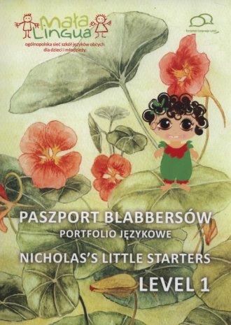 Paszport Blabbersów Portfolio językowe - okładka podręcznika