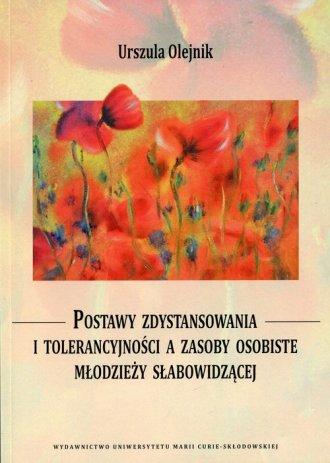 Postawy zdystansowania i tolerancyjności - okładka książki
