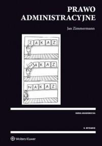 Prawo administracyjne - Jan Zimmermann - okładka książki