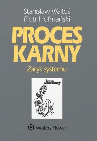 Proces karny. Zarys systemu - okładka książki
