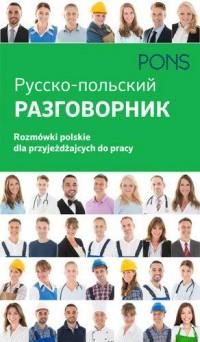 Rozmówki polskie dla przyjeżdżających do pracy Razgowornik - okładka podręcznika