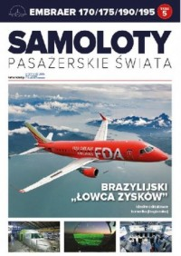 Samoloty pasażerskie świata. 5. Embraer 170/175/190/195. Brazylijski - okładka książki