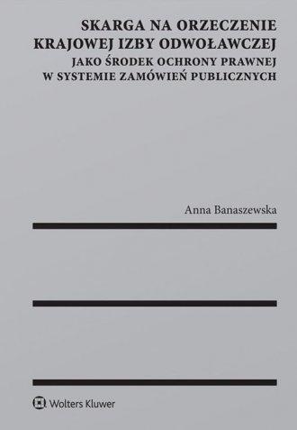 Skarga na orzeczenie Krajowej Izby - okładka książki