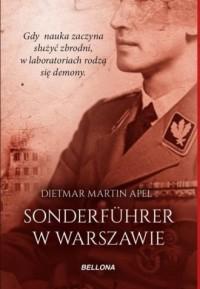Sonderfuhrer w Warszawie - okładka książki