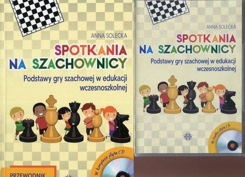 Spotkania na szachownicy. Przewodnik - okładka książki