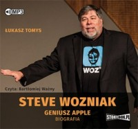 Steve Wozniak. Geniusz Apple. Biografia - pudełko audiobooku