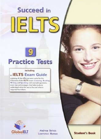 Succeed in IELTS. Academic 9 Practice - okładka podręcznika